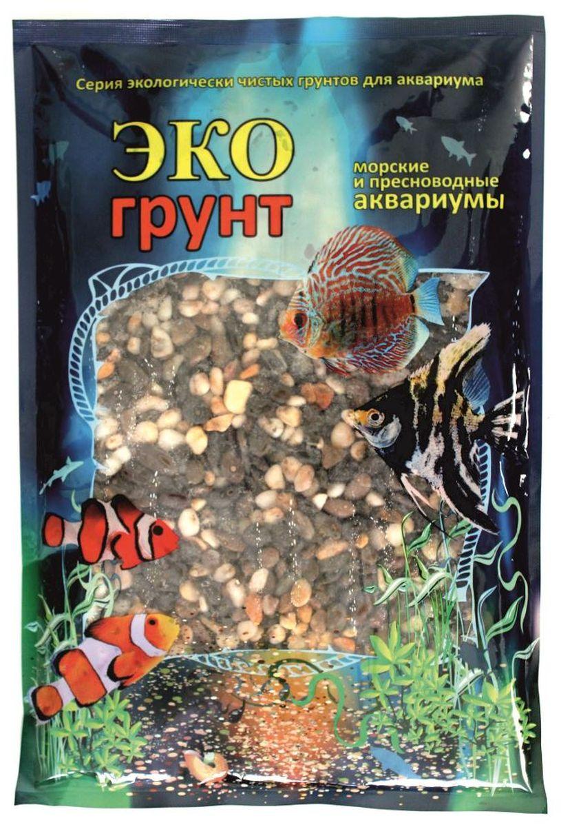 Грунт для аквариума ЭКОгрунт Феодосия №1, галька, 2-5 мм, 3,5 кг. г-0038 галька реликтовая эко грунт для аквариумов 4 8 мм 3 5 кг
