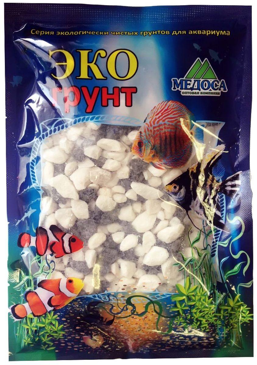 Грунт для аквариума ЭКОгрунт, мраморная крошка, цвет: черный, белый, 5-10 мм, 3,5 кг. г-0304 крошка мраморная окрашенная красная фракция 5 10 мм 10 кг