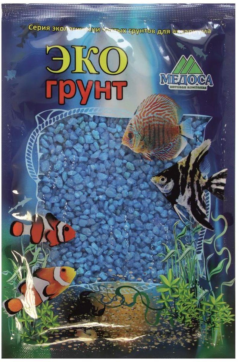 Грунт для аквариума ЭКОгрунт, мраморная крошка, цвет: голубой, 2-5 мм, 3,5 кг. г-1006г-1006Грунт ЭКОгрунт изготовлен из экологически чистого сырья, откалиброван, промыт и подвергнут термической обработке. Область применения - морскиеи пресноводные аквариумы, полюдариумы, террариумы.