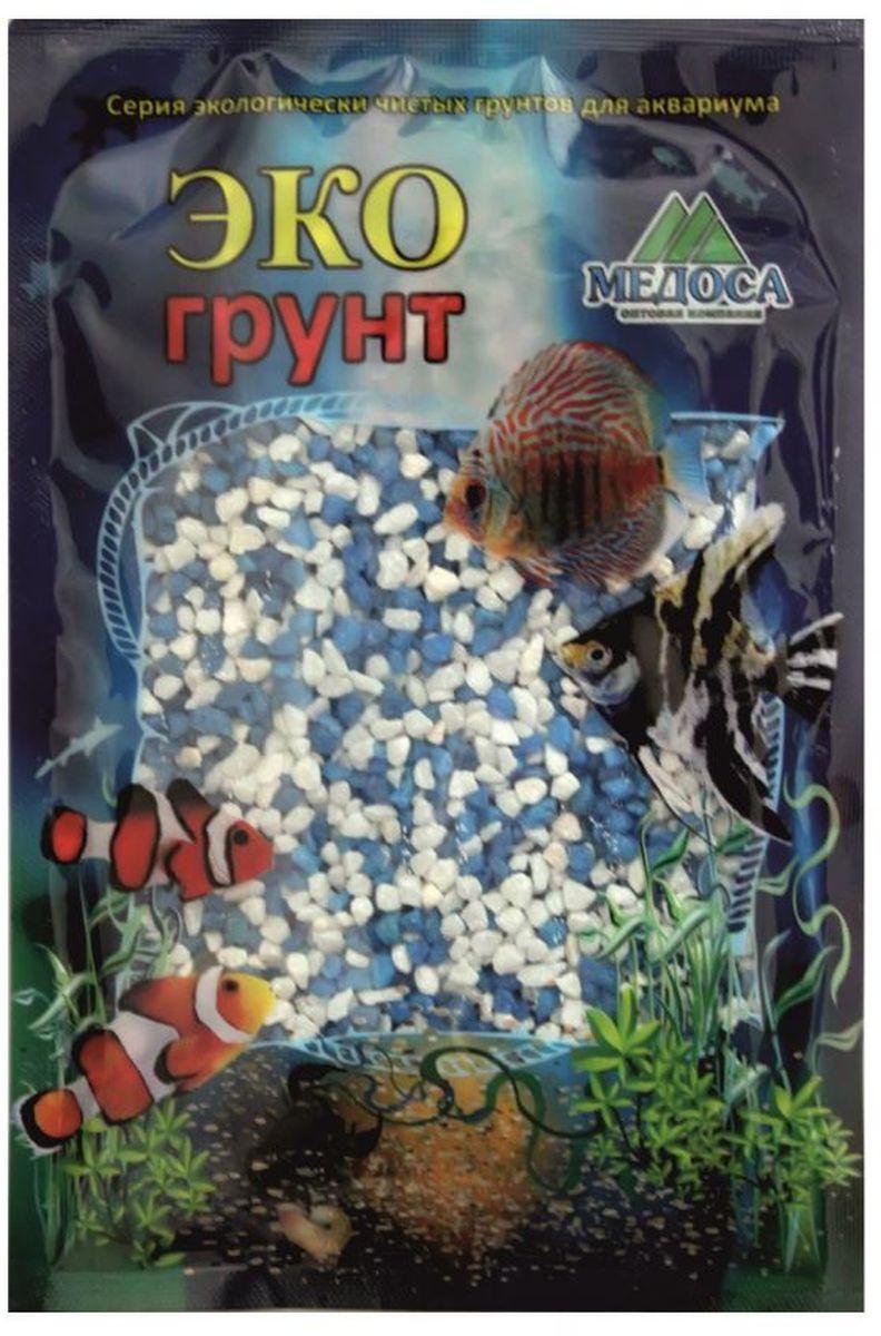Грунт для аквариума ЭКОгрунт, мраморная крошка, цвет: белый, голубой, 2-5 мм, 3,5 кг. г-1012г-1012Грунт ЭКОгрунт изготовлен из экологически чистого сырья,откалиброван, промыт и подвергнут термической обработке.Область применения - морскиеи пресноводные аквариумы,полюдариумы, террариумы.