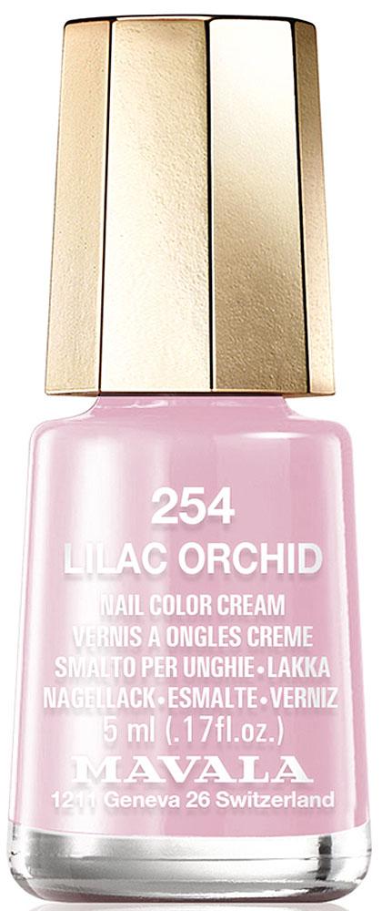Mavala Лак для ногтей Lilac Orchid уход за ногтями mavala защитный экран для ногтей nail shield объем 2 10 мл