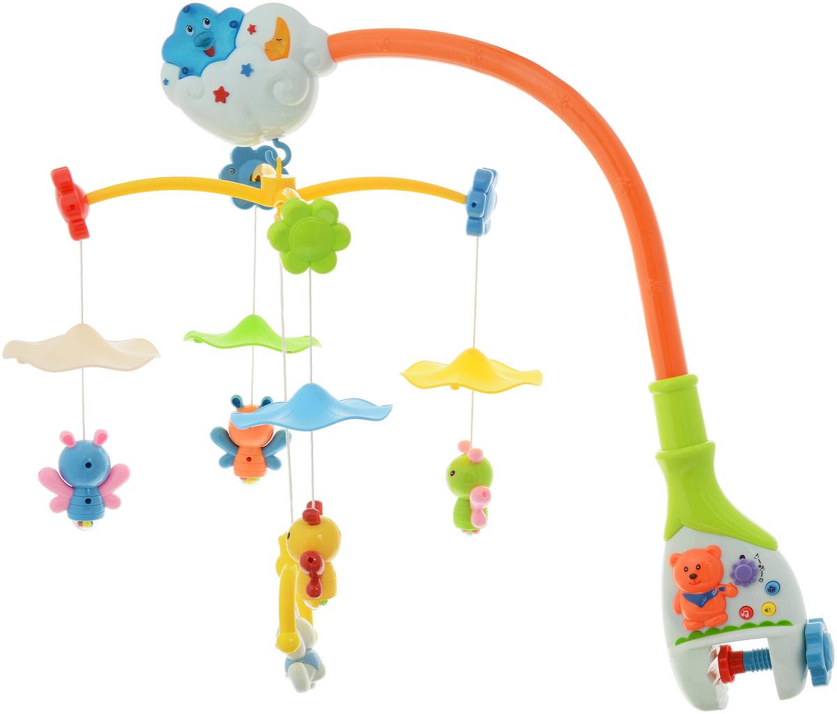Zhorya Музыкальный мобиль Потеша В облаках - Игрушки для малышей