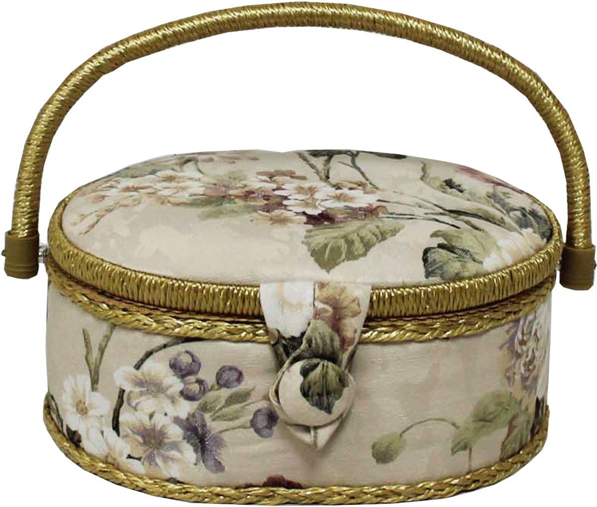 Шкатулка для рукоделия Grace & Glamour, 18 х 23 х 11 см. BN4726BN4726Гобеленовая шкатулка из коллекции Версаль выполнена с использованием натуральных материалов: каркас из дерева обтянут дизайнерской тканью (100% хлопок) с мягким наполнителем. Внутри шкатулка отделана искусственным шелком, имеется кармашек на резинке и шелковая игольница с двумя булавками. Шкатулка оснащена пластиковым вкладышем с 4 отсеками для мелочей. Ручка и края отделаны натуральным ротангом, который не только украшает шкатулку, но и оберегает края. Шкатулка поможет рукодельнице сорганизовать свое рабочее место, а значит, сократить время на создание своего творения. А кроме того, украсит любой интерьер и будет радовать свою обладательницу долгие годы благодаря качественному исполнению и материалам. Прекрасный подарок любой женщине!Размер вкладыша: 20,5х15х3 см.