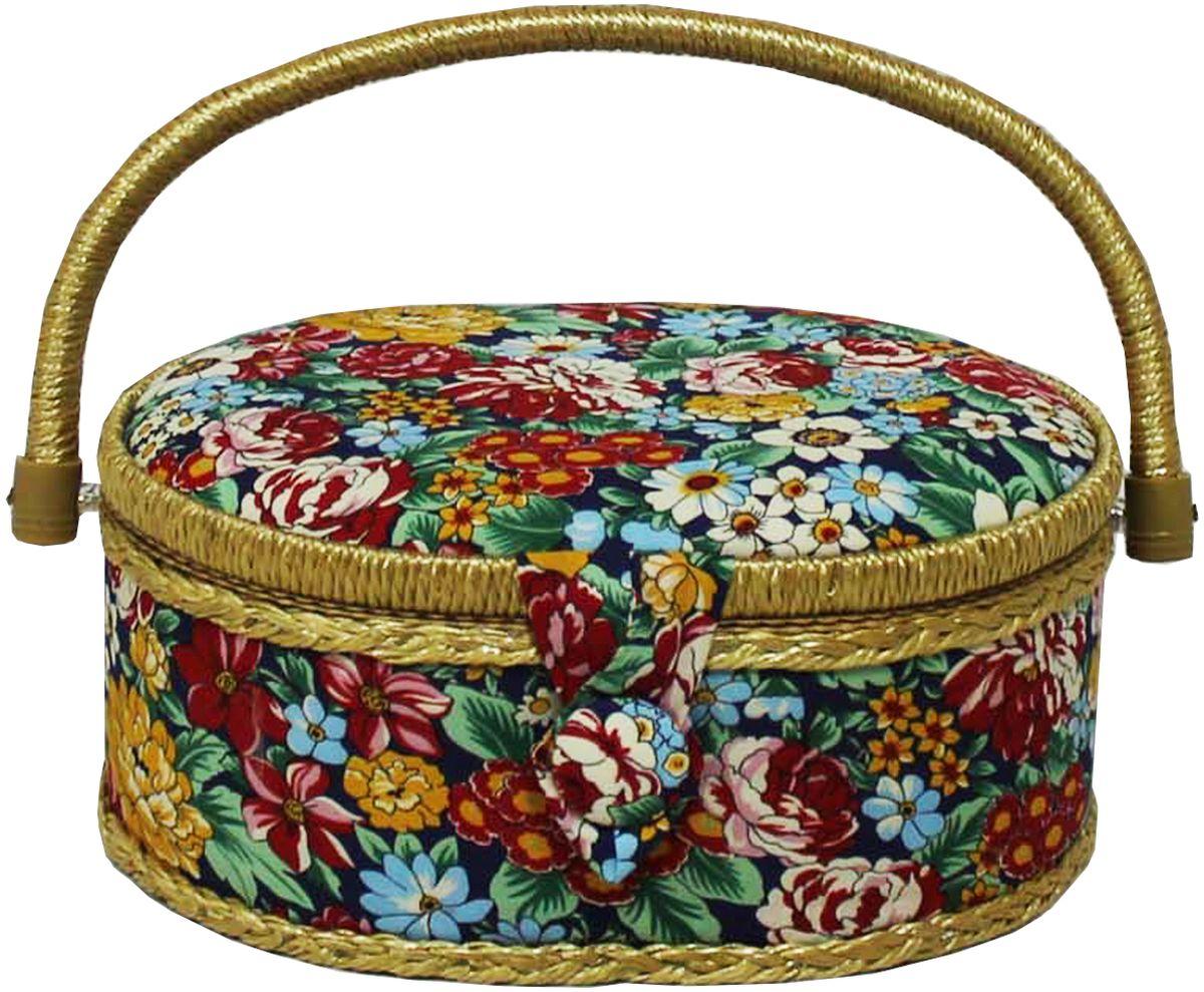 Шкатулка для рукоделия Grace & Glamour, 18 х 23 х 11 см. BN4729BN4729Интерьерная шкатулка из коллекции Полевые цветы выполнена с использованием натуральных материалов: каркас из дерева обтянут дизайнерской тканью Robert Kaufman (100% хлопок) с мягким наполнителем. Внутри шкатулка отделана искусственным шелком, имеется кармашек на резинке и шелковая игольница с двумя булавками. Шкатулка оснащена пластиковым вкладышем с 4 отсеками для мелочей. Ручка и края отделаны натуральным ротангом, который не только украшает шкатулку, но и оберегает края. Шкатулка поможет рукодельнице сорганизовать свое рабочее место, а значит, сократить время на создание своего творения. А кроме того, украсит любой интерьер и будет радовать свою обладательницу долгие годы благодаря качественному исполнению и материалам. Прекрасный подарок любой женщине!Размер вкладыша: 20,5х15х3 см.
