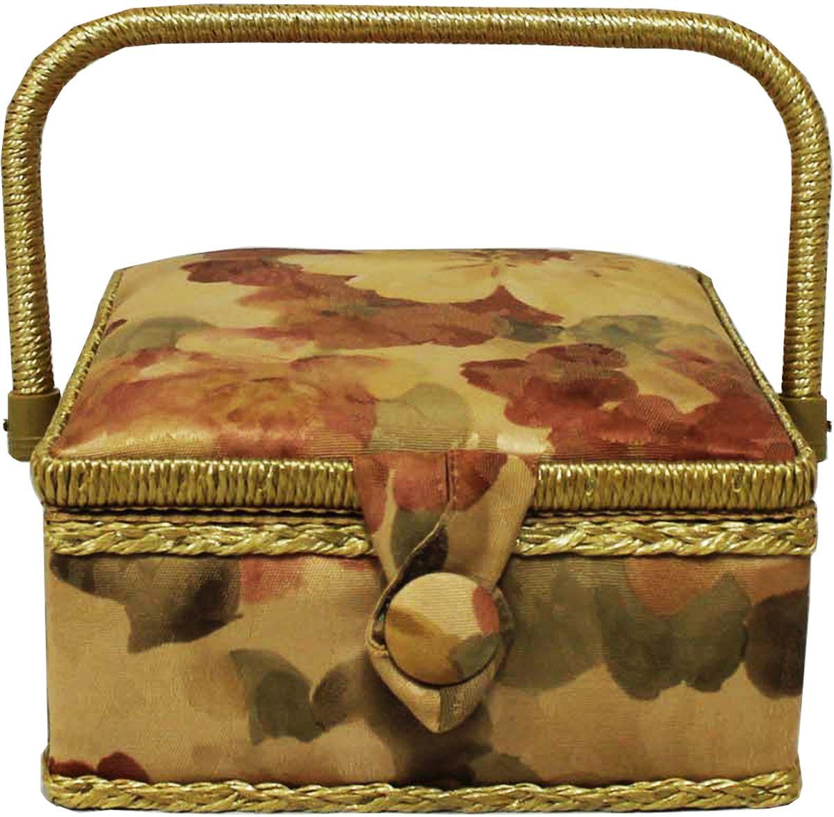 Шкатулка для рукоделия Grace & Glamour, 20 х 20 х 11 см. BN4744BN4744Гобеленовая шкатулка из коллекции Акварельные маки выполнена с использованием натуральных материалов: каркас из дерева обтянут дизайнерской тканью (100% хлопок) с мягким наполнителем. Внутри шкатулка отделана искусственным шелком, имеется кармашек на резинке и шелковая игольница с двумя булавками. Шкатулка оснащена пластиковым вкладышем с 3 отсеками для мелочей. Ручка и края отделаны натуральным ротангом, который не только украшает шкатулку, но и оберегает края. Шкатулка поможет рукодельнице сорганизовать свое рабочее место, а значит, сократить время на создание своего творения. А кроме того, украсит любой интерьер и будет радовать свою обладательницу долгие годы благодаря качественному исполнению и материалам. Прекрасный подарок любой женщине!