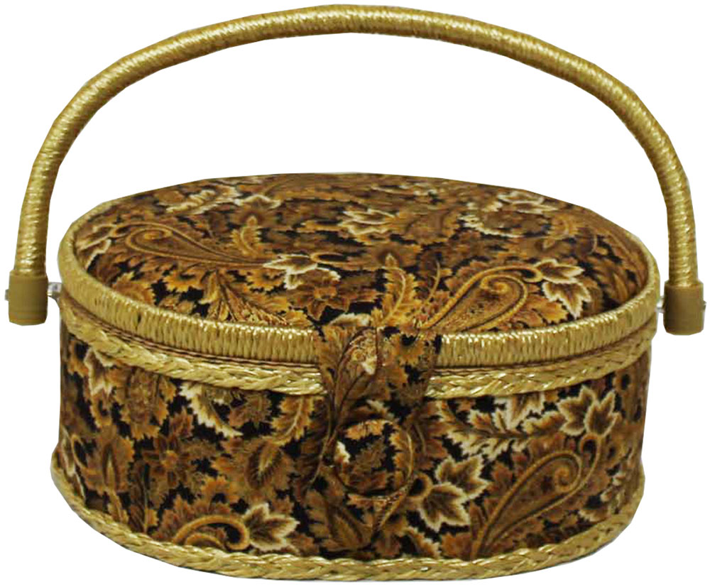 Шкатулка для рукоделия Grace & Glamour, 18 х 23 х 11 см. BN4747BN4747Интерьерная шкатулка из коллекции Золотая роскошь выполнена с использованием натуральных материалов: каркас из дерева обтянут дизайнерской тканью Robert Kaufman (100% хлопок) с мягким наполнителем. Внутри шкатулка отделана искусственным шелком, имеется кармашек на резинке и шелковая игольница с двумя булавками. Шкатулка оснащена пластиковым вкладышем с 4 отсеками для мелочей. Ручка и края отделаны натуральным ротангом, который не только украшает шкатулку, но и оберегает края. Шкатулка поможет рукодельнице сорганизовать свое рабочее место, а значит, сократить время на создание своего творения. А кроме того, украсит любой интерьер и будет радовать свою обладательницу долгие годы благодаря качественному исполнению и материалам. Прекрасный подарок любой женщине!Размер вкладыша: 20,5х15х3 см.
