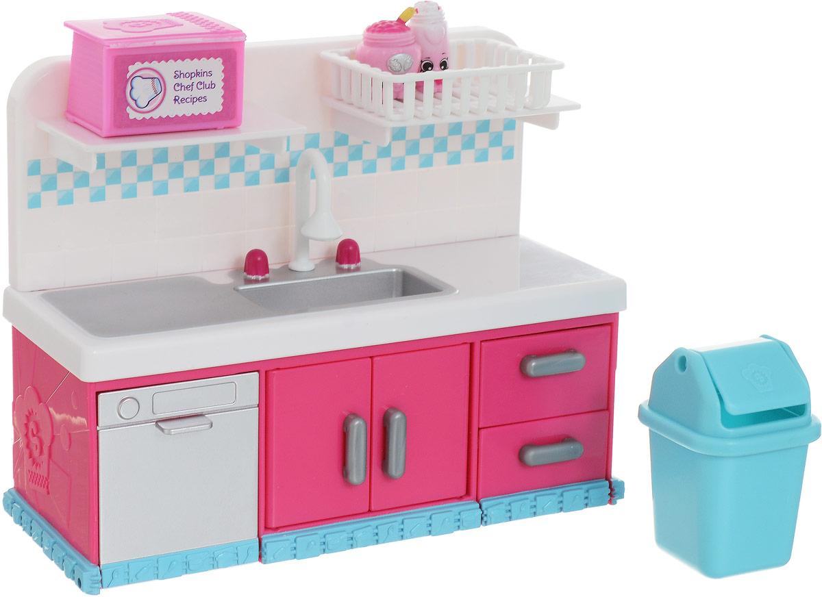 Shopkins Набор фигурок с мебелью Кулинарный клуб Кухня - Фигурки