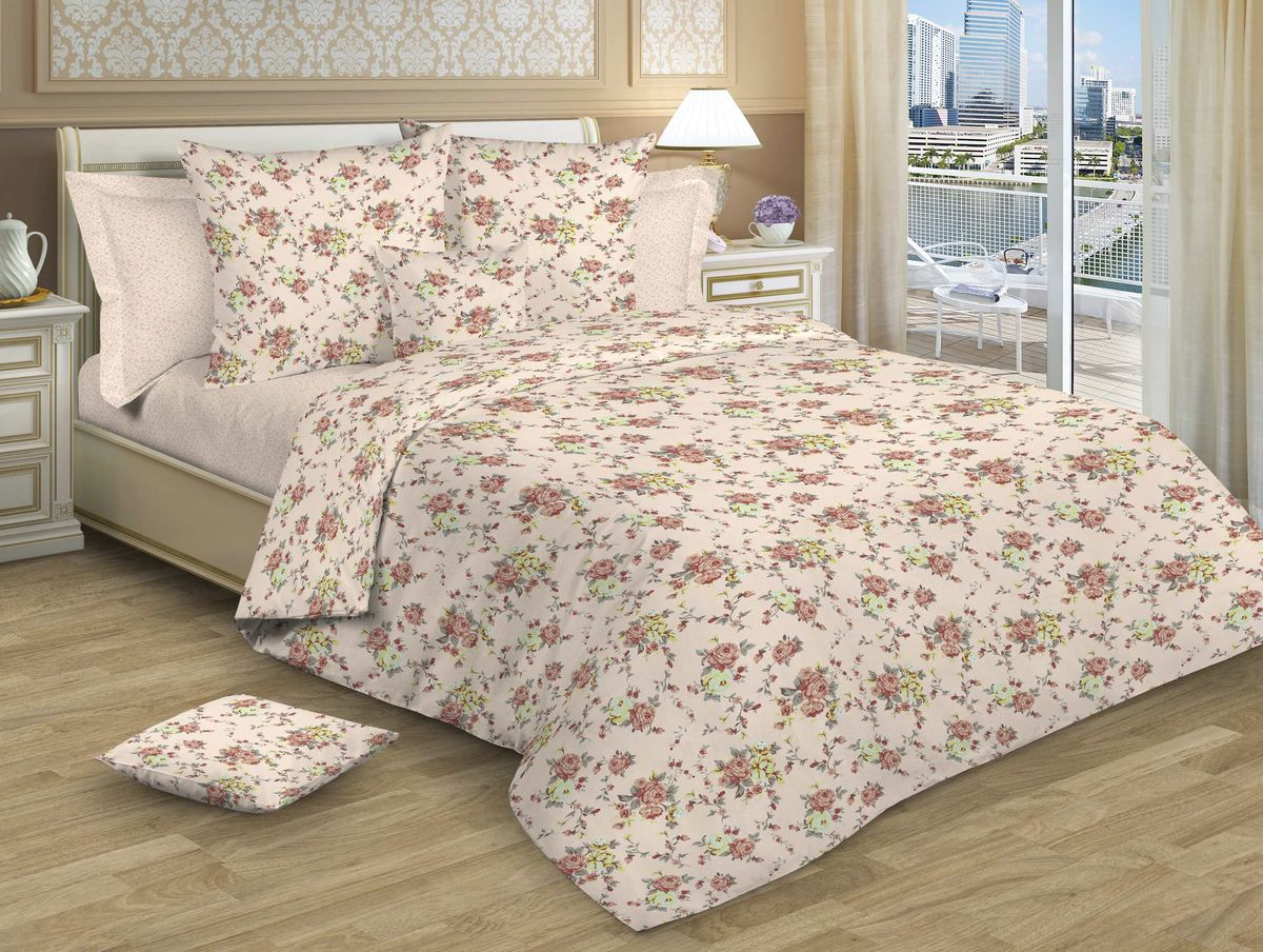 Комплект белья Guten Morgen, 1,5-спальный, наволочки 70х70 см. Р-786-143-150-70Р-786-143-150-70Изысканность, романтизм, нежность, ненавязчивая роскошь – основные черты, свойственные новой коллекции постельного белья,100% хлопок,удачное решение для вашей спальни!