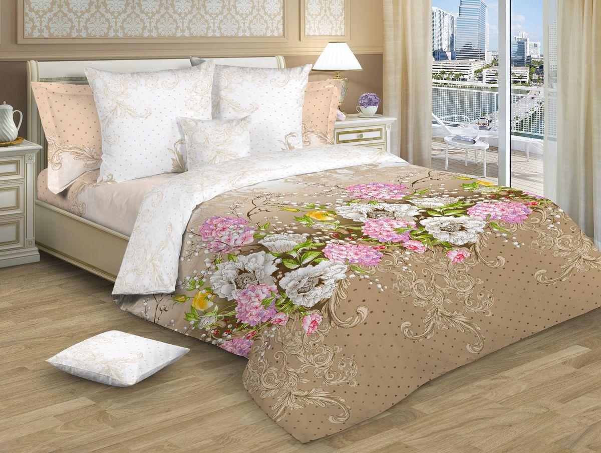 """Комплект постельного белья """"Guten Morgen"""", изготовленный из поплина (100%   хлопка), являющегося экологически чистым продуктом, поможет вам   расслабиться и подарит   спокойный сон. Комплект состоит из пододеяльника,   простыни и двух наволочек. Предметы комплекта   оформлены цветочным принтом. Постельное белье имеет и   привлекающий   внешний вид и обладает яркими, сочными цветами.   Благодаря такому комплекту постельного белья вы   сможете создать атмосферу уюта и комфорта в   вашей спальне.      Советы по выбору постельного белья от блогера Ирины Соковых. Статья OZON Гид"""