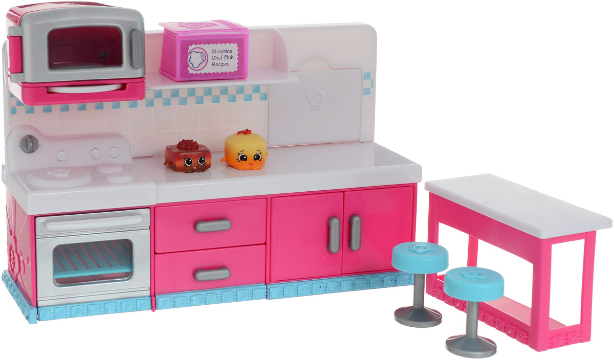 Shopkins Набор фигурок с мебелью Веселая кухня - Фигурки