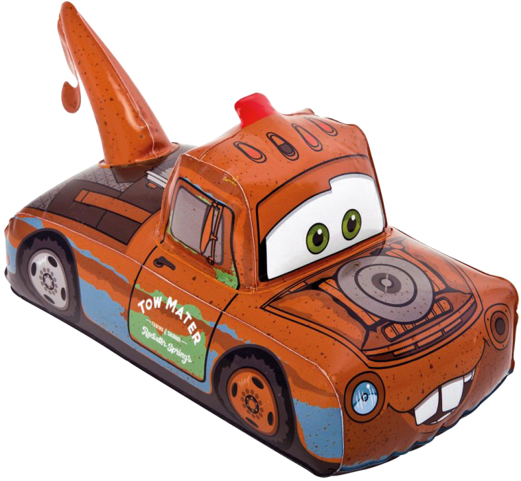 Intex Игрушка надувная Cars цвет оранжевый 33 см х 19 см