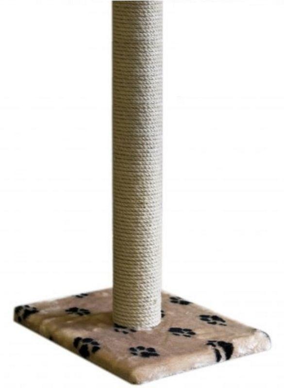 Когтеточка Пушок Столбик, цвет: бежевый, 36 х 36 х 65 см4640000931643Когтеточка - столбик один из самых необходимых аксессуаров для кошки. Такая когтеточка не только удовлетворит потребность кошки точить коготки, но и сохранит обои, мебель и ковры в вашем доме нетронутыми. Как правило, кошки быстро привыкают к когтеточке, но для большей вероятности можно натереть ее сухой валерьянкой или кошачьей мятой. Когтеточка компактна и займет совсем немного места в Вашем доме. К тому же, вы сможете при необходимости легко перемещать когтеточку с места на место.