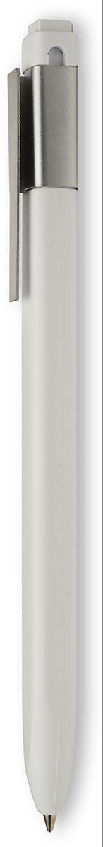 Moleskine Ручка шариковая Classic Click цвет белыйEW41BWH10Ручка шариковая Moleskine Classic Click с черными чернилами. Ручка с шариковым сменным стержнем и выдвижным наконечником. Матовое белое покрытие АБС; серый полированный стальной зажим (зарегистрированный дизайн) с выгравированным логотипом; 16 наклеек для оформления ручки.