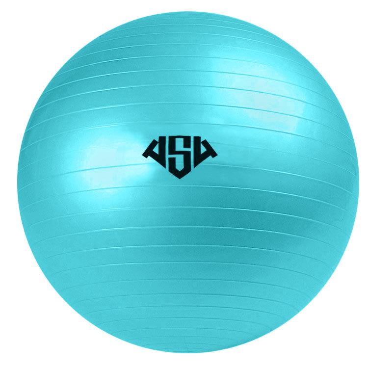 Мяч гимнастический AS4, цвет: бирюзовый, диаметр 55 см. RG-1233081/RG-1Гимнастический мяч AS4 - это отличное средство для спортивной и лечебной гимнастики. Он помогает развивать и укреплять мышцы спины, живота, ног, рук, формирует правильную осанку у детей, и корректирует ее у взрослых. А также помогает снять напряжение и улучшает координацию. Диаметр мяча: 55 см.Уважаемые покупатели!Мяч поставляется в сдутом виде. Насос в комплект не входит.Йога: все, что нужно начинающим и опытным практикам. Статья OZON Гид