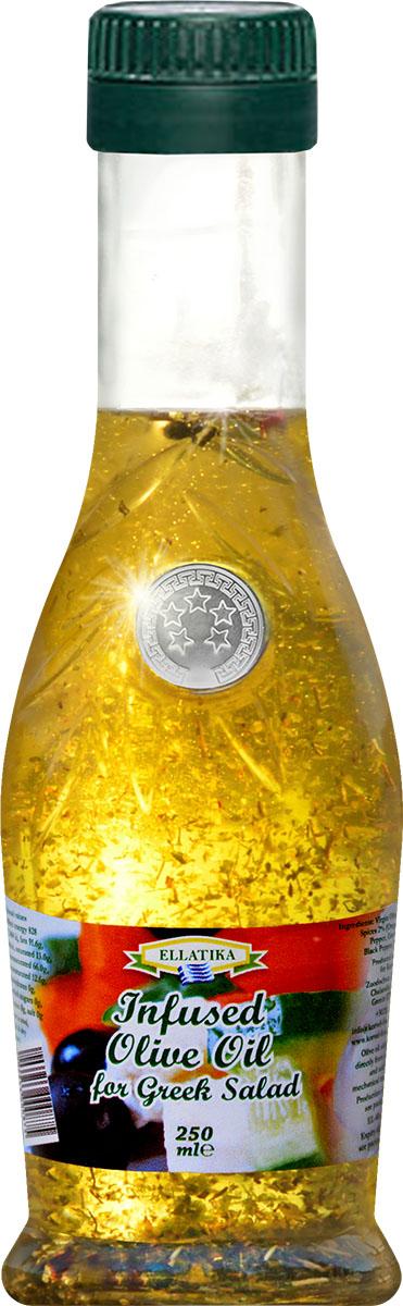 Ellatika ароматное оливковое масло для греческого салата, 250 мл102213000875Отличная заправка, созданная, чтобы вы смогли ощутить настоящий запах и вкус знаменитого традиционного греческого салата.Масла для здорового питания: мнение диетолога. Статья OZON Гид