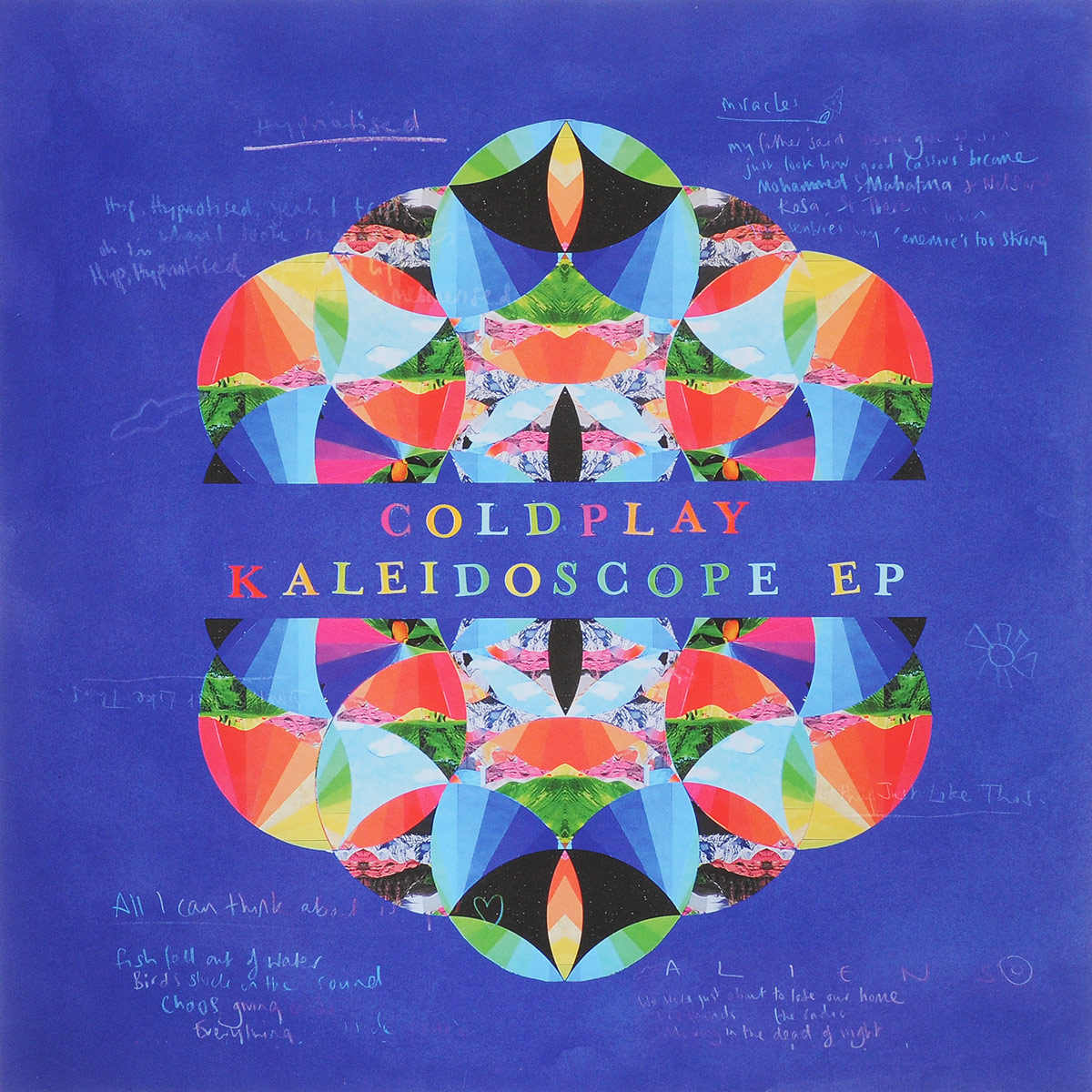 Coldplay Coldplay. Kaleidoscope EP (LP) coldplay – ghost stories lp