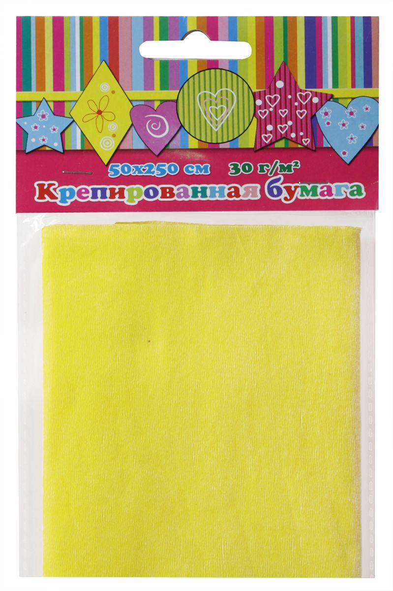 Феникс+ Бумага крепированная цвет желтый 50 х 250 см36437Поделочная крепированная бумага Феникс+ применяется для декорирования подарочной упаковки, оформления букетов, изготовления поделок и аппликаций, праздничного оформления залов, изготовления карнавальных костюмов и декораций для детских и корпоративных праздников.Изготовление различных поделок с помощью такой бумаги способствует развитию отличной фантазии и мелкой моторики рук. Это занятие увлечет вашего ребенка и подарит ему хорошее настроение.