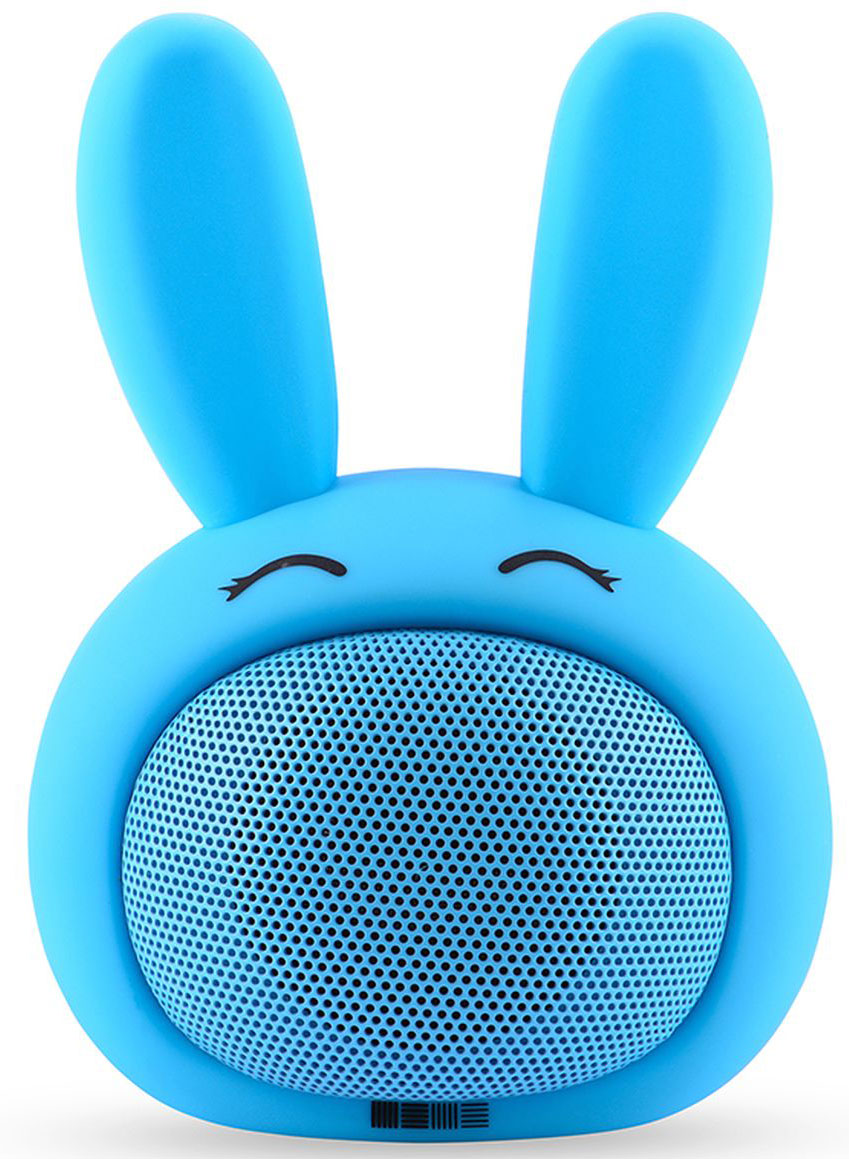 Interstep Funny Bunny 3W SBS-150, Blue портативная Bluetooth-колонка rk 720 кукла малая василиса