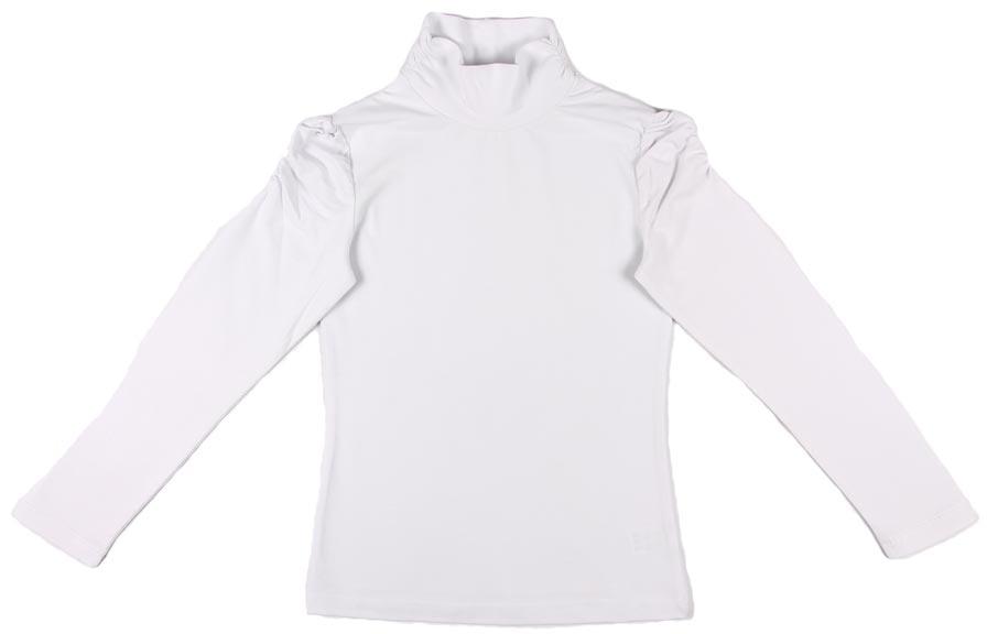 Фото Водолазка для девочки Cherubino, цвет: белый. CAJ 61387. Размер 158