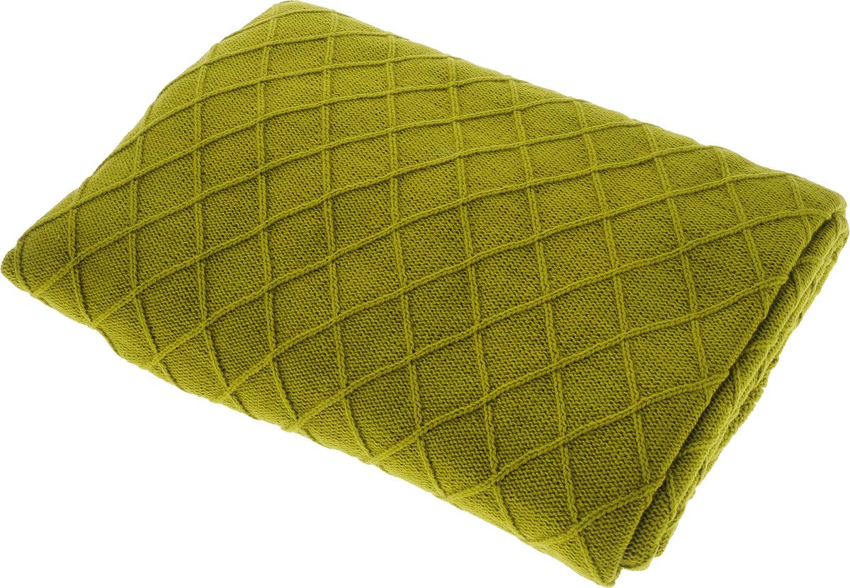 Плед Apolena Rhomb, цвет: оливковый, 130 х 180 см87-V480/1Вязаный плед Apolena Rhomb выполнен из мягкой объемной пряжи (100% акрил) с модным рисунком ромб. Такой плед пригодится в любое время года. Удобство, комфорт, стиль и экологичность в одном предмете.Плед является отличным подарком, ведь он будет всегда актуален, особенно для ваших родных и близких, ведь вы дарите им частичку своего тепла!