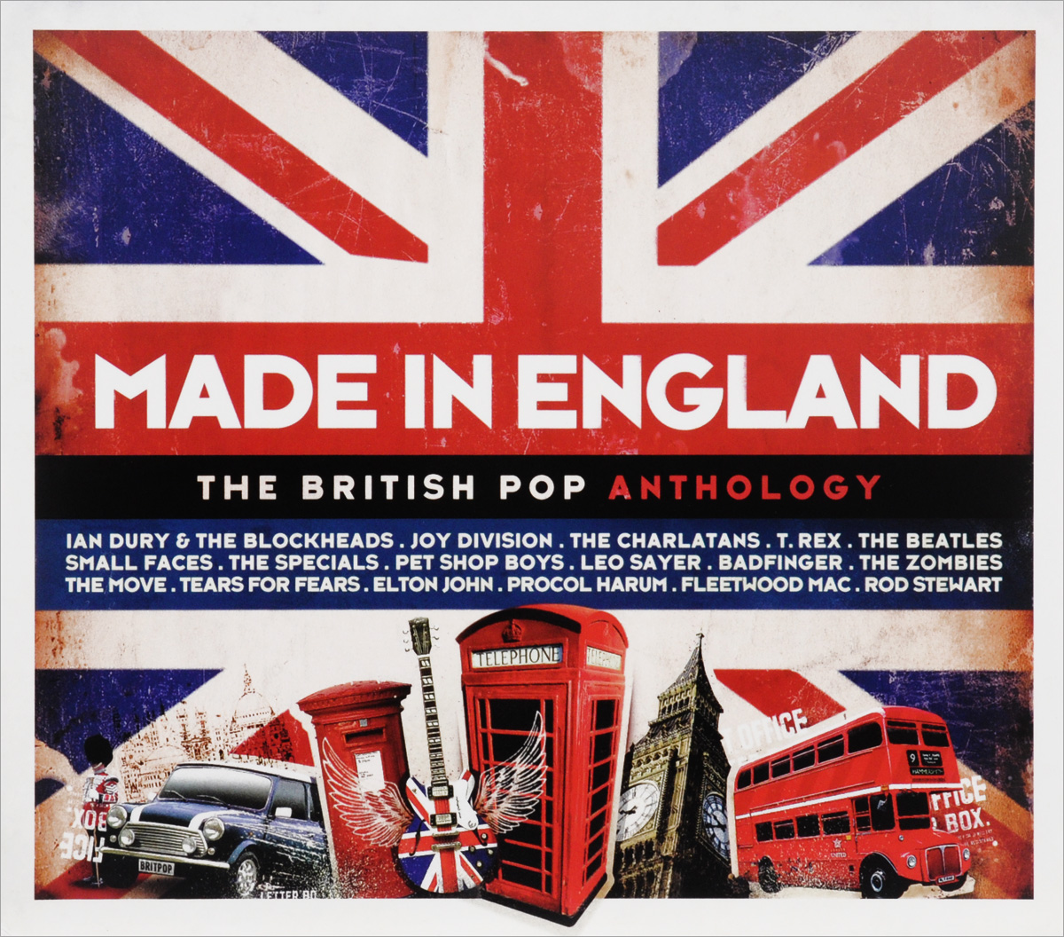 Made In England. The British Pop Anthology (3 CD) motti regev pop rock music aesthetic cosmopolitanism in late modernity