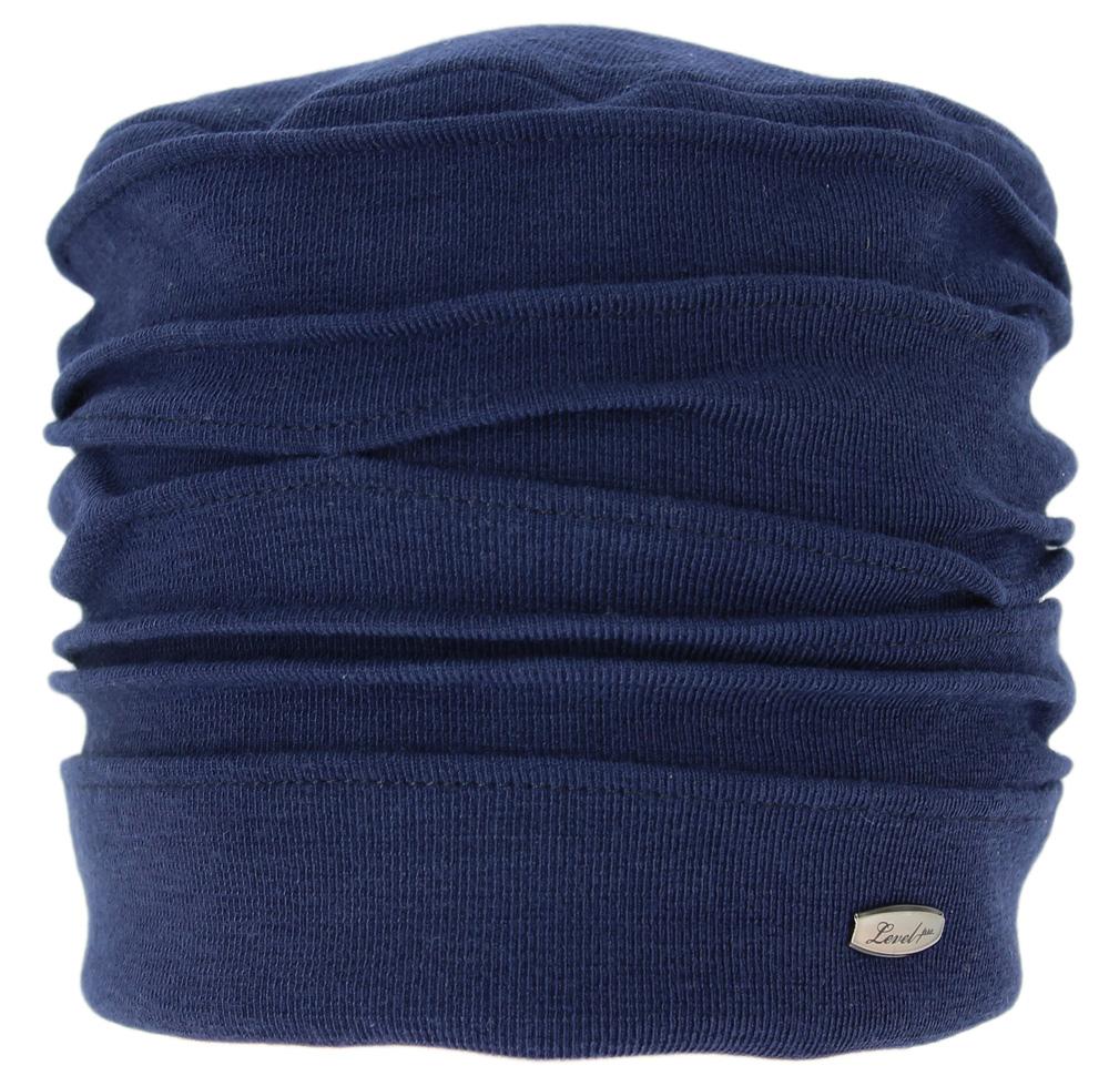 Шапка женская Level Pro, цвет: темно-синий. 390965. Размер 56/58390965Женская шапка Level Pro выполнена из сочетания шерсти и полиэстера. Для комфорта и тепла внутри шапки предусмотрена трикотажная подкладка. Модель оформлена декоративными складками и украшена небольшой металлической пластиной.