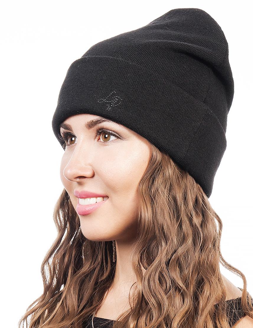 Шапка женская Level Pro, цвет: черный. 402952. Размер 56/58402952Женская шапка Level Pro выполнена из высококачественной пряжи. Для комфорта и тепла внутри шапки предусмотрена мягкая флисовая подкладка. Изделие украшено надписью.