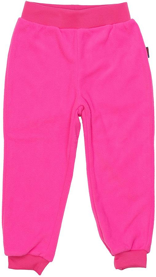 Брюки флисовые для девочки Oldos Active Брук, цвет: ярко-розовый. 4Б1715. Размер 86, 1,5 года oldos комбинезон трансформер роботы