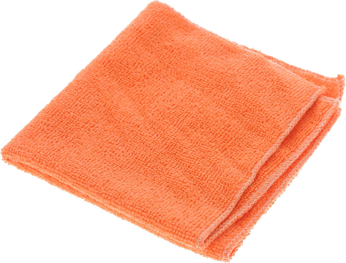 Салфетка для уборки Eva, цвет: оранжевый, 30 х 30 смЕ4801_оранжевыйСупервпитывающая салфетка Eva, изготовленнаяиз микрофибры, прекрасно подойдет для влажнойуборки. Изделие обладает высокойизносоустойчивостью и рассчитано на многократноеиспользование, легко моется в теплой воде с мягкимичистящими средствами. Такая салфетка не оставляет разводов и ворсинок, удаляетбольшинство жирных и маслянистых загрязнений безиспользования химических средств.
