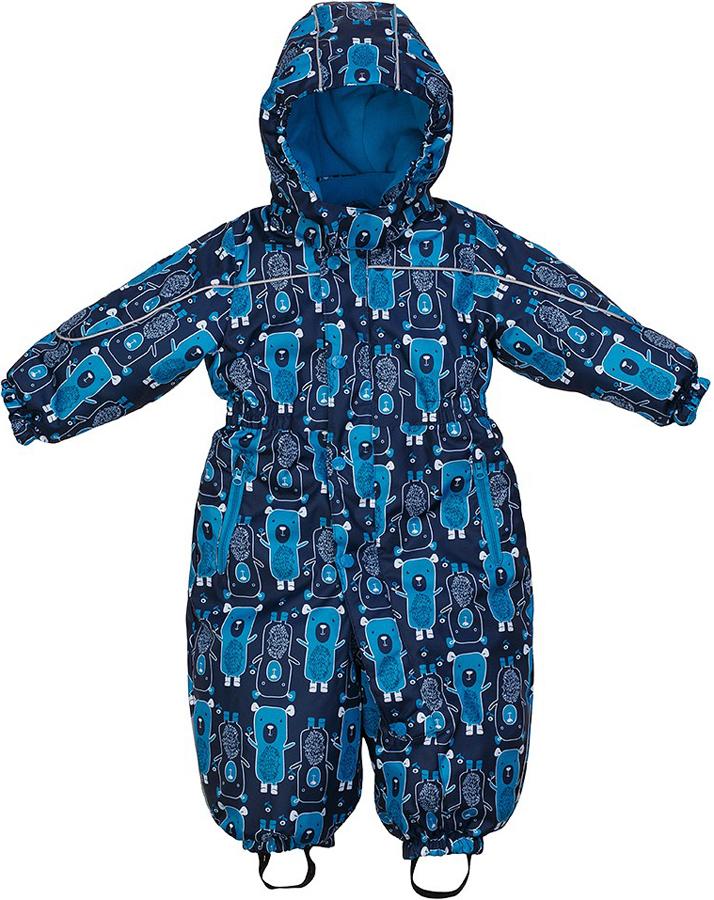 Комбинезон для мальчика Jicco By Oldos Дерри, цвет: синий, голубой. 1J7OV00. Размер 92, 2 года