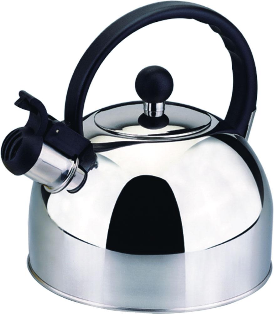 Чайник Bekker, со свистком, 2,5 л. BK-S340BK-S3402,5 л, со свистком, ручка фиксированная пластмассовая черного цвета, крышка из нержавеющей стали. Толщина стенки 0,3 мм, дна 1 мм. Зеркальная поверхность. Капсулированное дно. Подходит для чистки в посудомоечной машине. Состав: нержавеющая сталь.