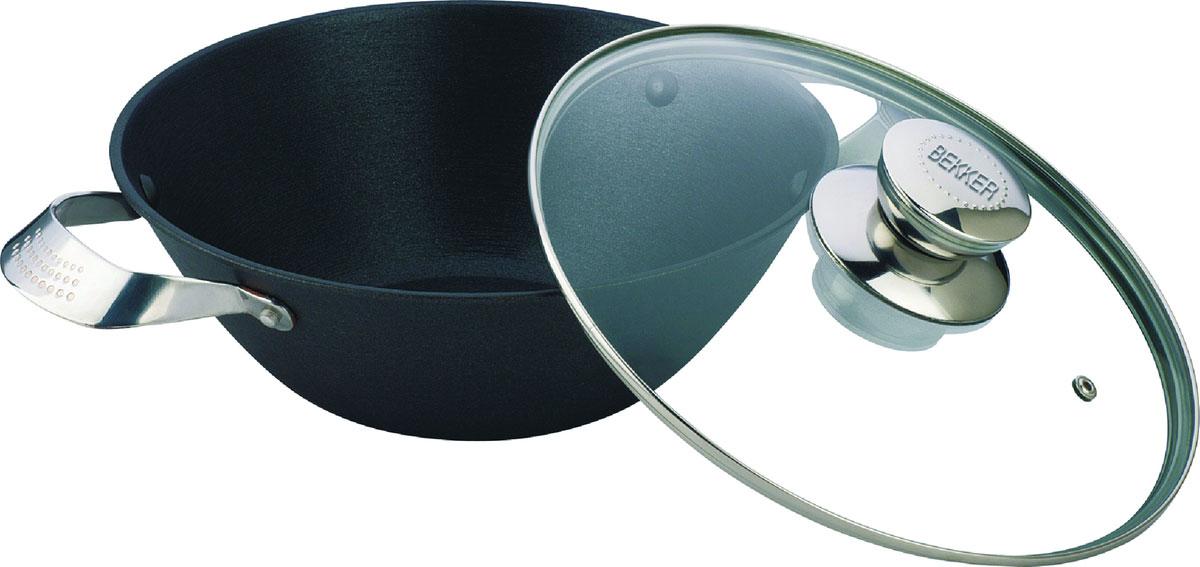 Котел Bekker, с крышкой, 5,6 л. BK-649BK-6495,6 л (32 см),крышка стеклянная, ручки из нержавеющей стали, антипригарное покрытие. Состав: чугун.