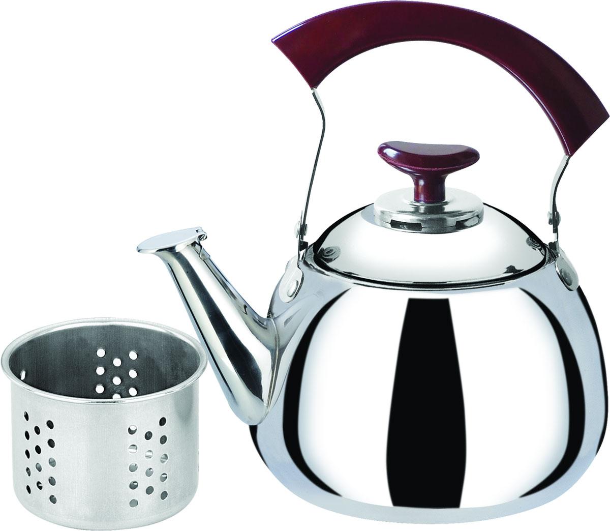 Чайник  Bekker , со свистком, с фильтром, 1 л. BK-S506 - Посуда для приготовления