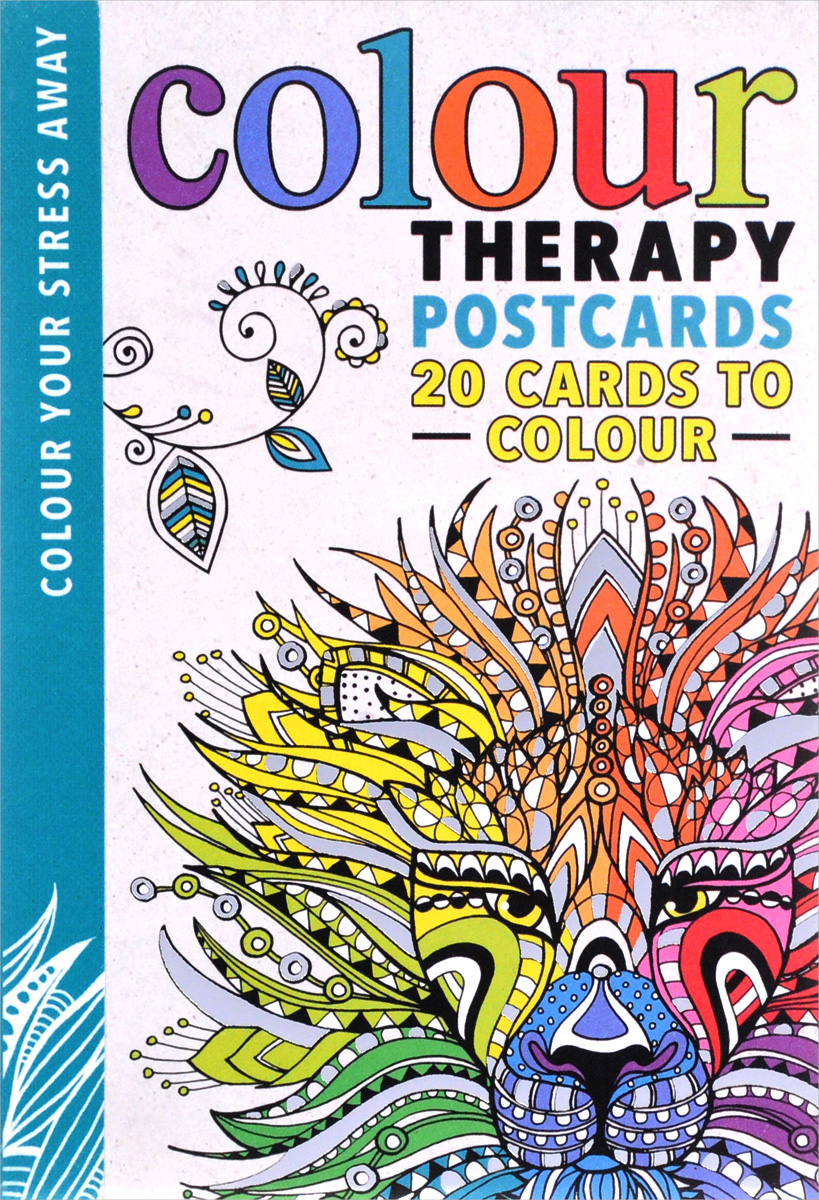 Colour Therapy: Postcards 20 Cards to Colour celtic patterns to colour