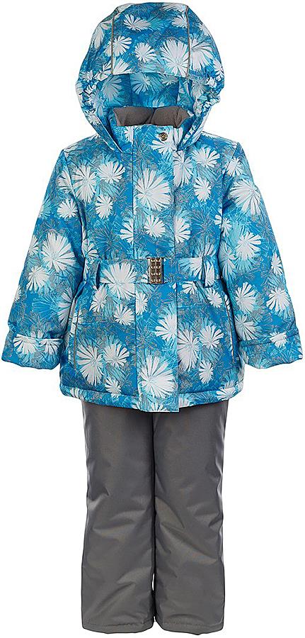 Комплект для девочки Jicco By Oldos Николь: куртка и полукомбинезон, цвет: бирюзовый, серый. 1J7SU05. Размер 116, 6 лет1J7SU05Комплект для девочки Jicco By Oldos, состоящий из куртки и полукомбинезона, выполнен из полиэстера с водо-грязеотталкивающей пропиткой. Подкладка-флис, в рукавах и брючинах - гладкий полиэстер. Куртка дополнена капюшоном, воротником - стойкой, двумя карманами на молниях, а также светоотражающими элементами. Изделие застегивается на молнию, имеет двойную ветрозащитную планку и дополнено поясом. Рукава с отворотом и внутренней трикотажной саморегулирующейся манжетой. Эластичная талия полукомбинезона и регулируемые подтяжки гарантируют посадку по фигуре, длинная молния впереди облегчает процесс одевания.