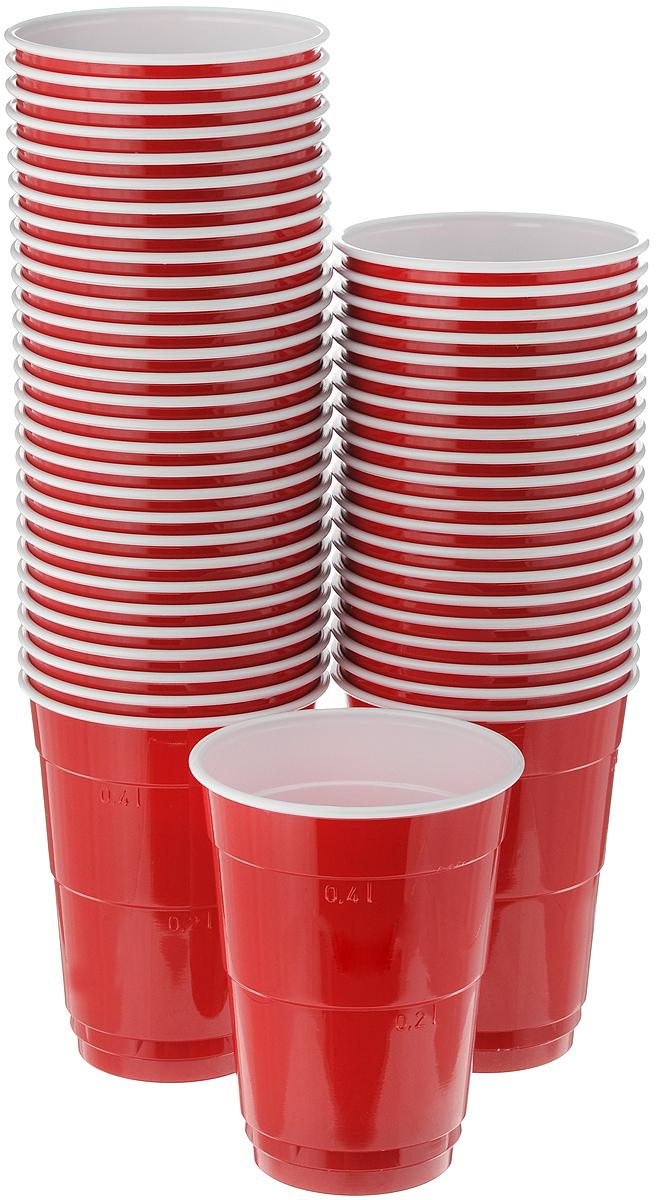 Набор одноразовых стаканов Huhtamaki Party Cups, 400 мл, 50 шт набор одноразовых стаканов huhtamaki craft 200 мл 35 шт