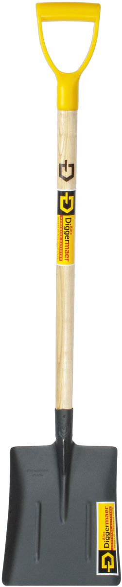 Лопата совковая Alex Diggermaer Тип 1, песочная, с черенком и ручкой, цвет: черный. D1.1С1РD1.1С1РЛопата совковая песочнаяAlexDiggermaer(тип 1) предназначена для работ с сыпучими материалами. Широкое применение этот вид лопат получил в строительно-дорожных работах, погрузке и разгрузке сыпучих материалов и на садово-дачных участках. Полотно лопаты имеет широкую прямоугольную форму, боковые стороны загнуты, три ребра жесткости, для большей прочности лопаты. Применяя эту модель, вам не составит большого труда работать с песком, щебнем, цементом, известью, почвой. Лопата совковая песочная тип 1 прослужит вам так долго, что вы даже и не вспомните, когда ее приобрели, как будто она была у вас всегда. Полотно лопаты изготовлено по уникальной технологии из высококачественной рельсовой стали, покрыто порошковой краской. Лопата оснащена высококачественным черенком, покрытым лаком и эргономичной легкой пластиковой ручкой.