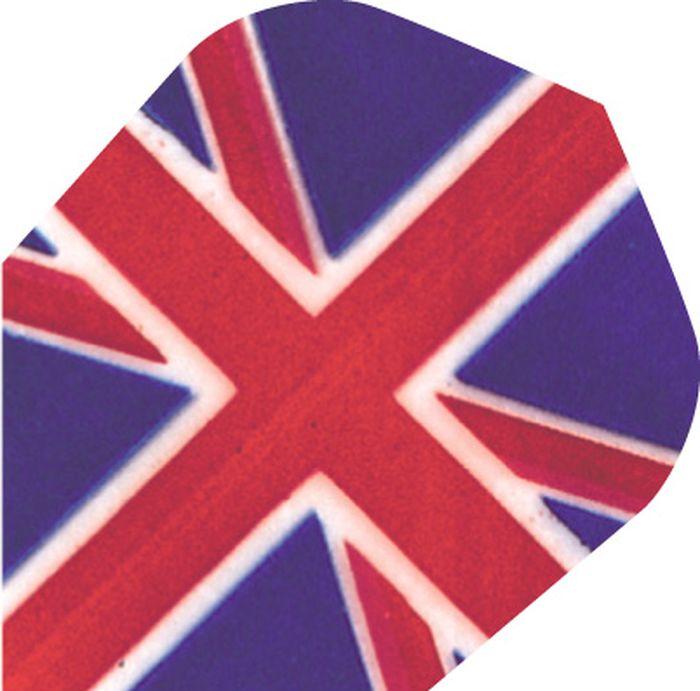 Набор оперений для дротиков Harrows Поли Принт, цвет: синий, красный, 3 штPFB10_флагНабор оперений для дротиков Harrows Поли Принт выполнен из высококачественного полиэстера. Оперения декорированы оригинальным рисунком, напоминающим флаг Великобритании. Игра в дартс развивает меткость, глазомер, реакцию, мелкую моторику и чувство соперничества. В комплекте 3 оперения.