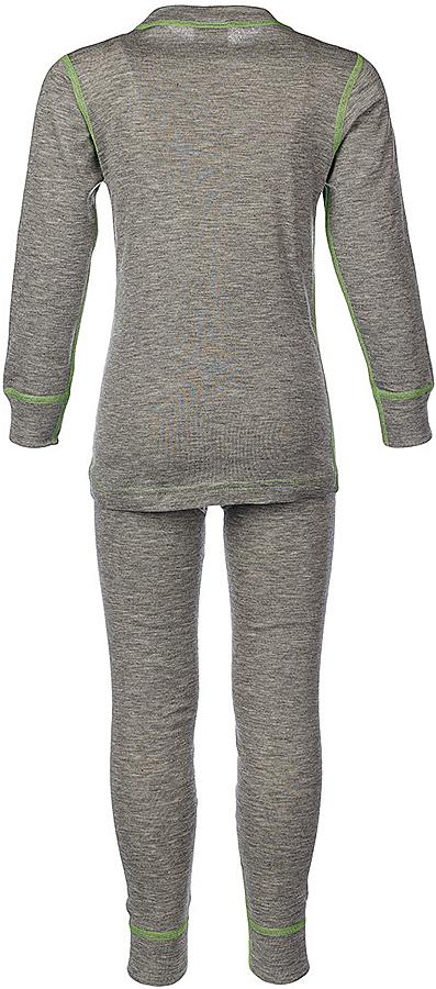 Универсальный комплект термобелья для девочки Oldos Active Base, состоящий из футболки с длинным рукавом и леггинсов, подойдет для вашего ребенка в прохладную погоду. Модель с однослойной структурой выполнена из полиэстера, она очень мягкая и приятная на ощупь. Эластичные плоские швы изделия не вызывают раздражений. Однослойное полотно с начесом обеспечит максимальное отведение влаги от тела ребенка и тепловой комфорт. Термобелье отличается от обычного белья лучшей способностью сохранять тепло между кожей и тканью, вдобавок оно более эластичное, благодаря чему оно не стесняет движений, не деформируется и служит дольше.   Футболка с длинными рукавами и круглым вырезом горловины оформлена контрастной прострочкой. На рукавах предусмотрены широкие эластичные манжеты. Вырез горловины дополнен трикотажной резинкой. Спинка модели удлинена.  Леггинсы имеют на поясе мягкую эластичную резинку, благодаря чему они не сдавливают животик ребенка и не сползают. Низ брючин дополнен широкими манжетами. Модель оформлена контрастной прострочкой.Комплект термобелья станет отличным дополнением к детскому гардеробу. Он может применяться при активном отдыхе, а также при повседневном ношении.Рекомендуемый температурный режим от +5°С до -25°С.