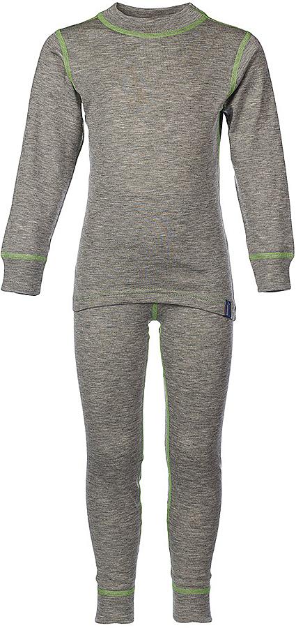 Комплект термобелья для девочки Oldos Active Base: футболка с длинным рукавом, леггинсы, цвет: светло-серый, салатовый. 001ДН. Размер 116, 6 лет001ДНУниверсальный комплект термобелья для девочки Oldos Active Base, состоящий из футболки с длинным рукавом и леггинсов, подойдет для вашего ребенка в прохладную погоду. Модель с однослойной структурой выполнена из полиэстера, она очень мягкая и приятная на ощупь. Эластичные плоские швы изделия не вызывают раздражений. Однослойное полотно с начесом обеспечит максимальное отведение влаги от тела ребенка и тепловой комфорт. Термобелье отличается от обычного белья лучшей способностью сохранять тепло между кожей и тканью, вдобавок оно более эластичное, благодаря чему оно не стесняет движений, не деформируется и служит дольше. Футболка с длинными рукавами и круглым вырезом горловины оформлена контрастной прострочкой. На рукавах предусмотрены широкие эластичные манжеты. Вырез горловины дополнен трикотажной резинкой. Спинка модели удлинена.Леггинсы имеют на поясе мягкую эластичную резинку, благодаря чему они не сдавливают животик ребенка и не сползают. Низ брючин дополнен широкими манжетами. Модель оформлена контрастной прострочкой.Комплект термобелья станет отличным дополнением к детскому гардеробу. Он может применяться при активном отдыхе, а также при повседневном ношении.Рекомендуемый температурный режим от +5°С до -25°С.