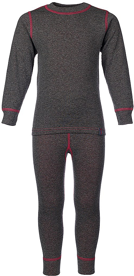 Комплект термобелья для девочки Oldos Active Warm: футболка с длинным рукавом, леггинсы, цвет: темно-серый, розовый. 002ДН. Размер 110, 5 лет002ДНКомплект термобелья для девочки Oldos Active Warm состоит из футболки с длинным рукавом и леггинсов. Комплект изготовлен из двухслойного полотна, представляющий собой цельно вязаную ткань с различным составом нитей на лицевой и изнаночной сторонах. Синтетический слой внутри быстро и эффективно отводит влагу, а хлопок и шерсть снаружи сохраняют тепло. Плоские швы изделия не вызывают раздражений. Изнаночная сторона контрастного цвета.Футболка с длинными рукавами и круглым вырезом горловины имеет удлиненную спинку. На рукавах предусмотрены манжеты. Эластичный пояс на леггинсах обеспечивает комфортную посадку изделия на фигуре. Брючины дополнены широкими манжетами. Комплект оформлен контрастной прострочкой.Двухслойное термобелье снижает теплопотери организма в холодную погоду, добавляет ощущение комфорта, защищает организм от перегрева во время физических нагрузок. Термобелье может применяться при активном отдыхе, а также при повседневной носке. Рекомендуемый температурный режим от 0°С до -30°С.