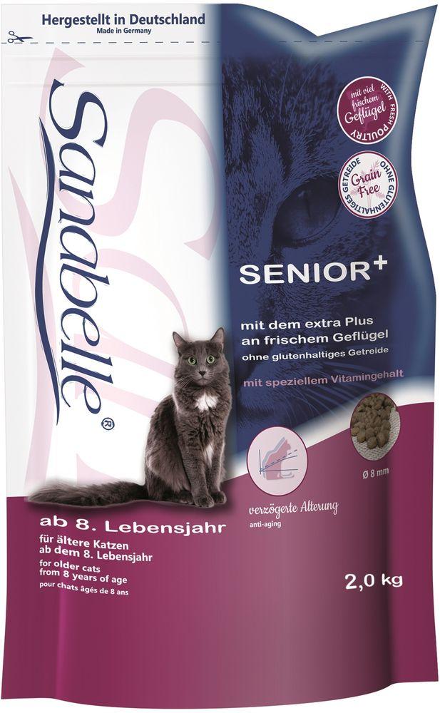 Корм сухой Sanabelle Senior для кошек старше 8 лет, 2 кг57848Полностью сбалансированный высококачественный сухой корм Sanabelle Senior для кошек старше 8 лет. Содержит натуральный антиоксидантный комплекс для замедления процессов старения.Сохраняет зрение и поддерживает естественную сопротивляемость организма.Балластные вещества стабилизируют кишечную флору испособствуют правильной работе пищеварительной системы. Гармоничное сочетание таурина, жирных кислот (Омега 3, Омега 6) и цинка ( в легко усваиваемой форме хелатов) способствует сохранению эластичности кожи, придает блеск шерсти, сохраняет зрение и поддерживает естественную сопротивляемость организма. Состав: протеин - 29%; жир - 13%; клетчатка - 5%, микро- и макроэлементы - 6%; кальций - 0,8%, фосфор - 0,9%; магний - 0,07%; влажность - 10%. Товар сертифицирован.