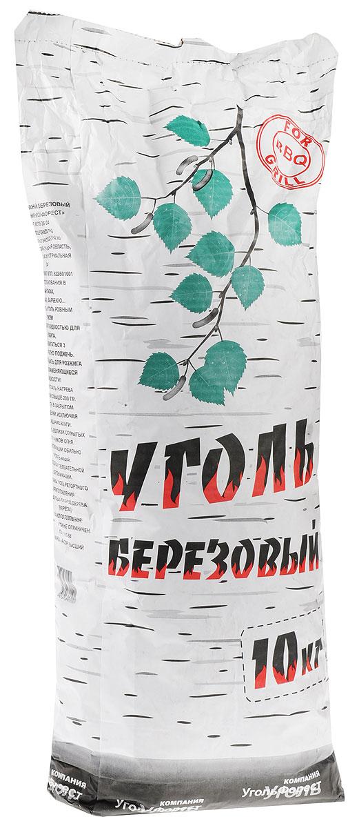 Уголь березовый  Уголь Форест , 10 кг - Посуда для приготовления