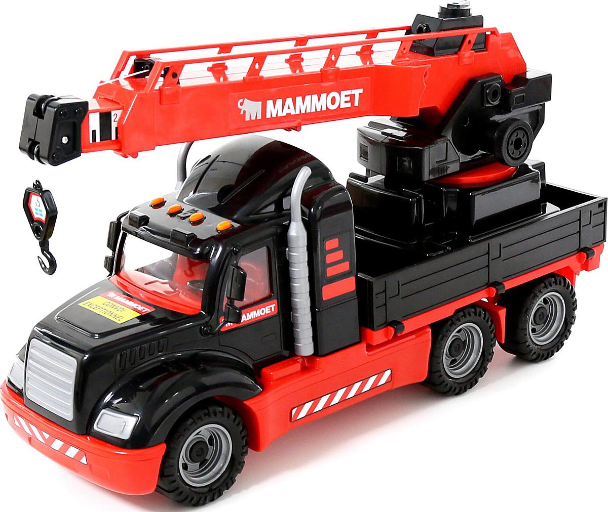 Полесье Автокран Mammoet 205-01 полесье полесье игровой набор mammoet volvo автомобиль трейлер и трактор погрузчик