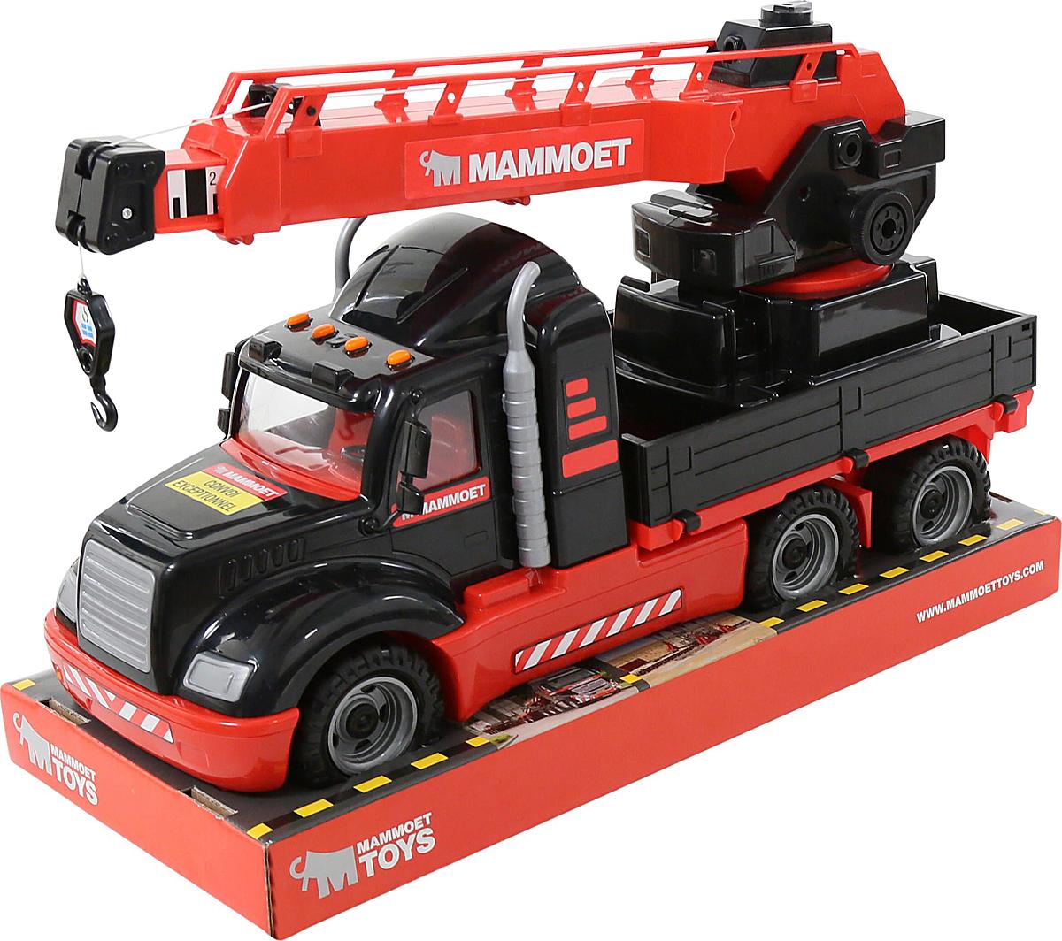 Полесье Автокран Mammoet 205-03 полесье полесье игровой набор mammoet volvo автомобиль трейлер и трактор погрузчик