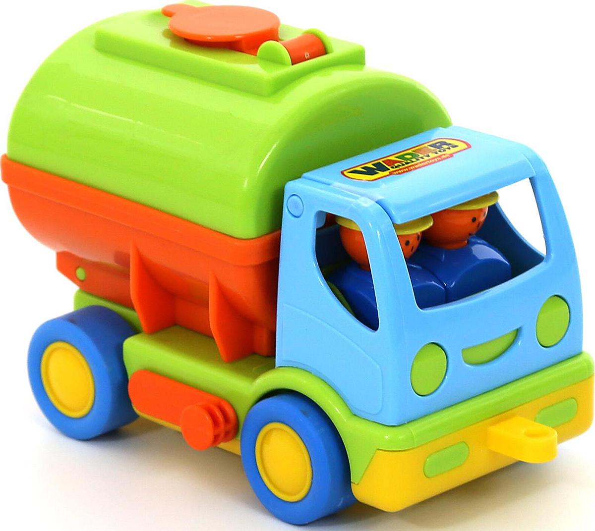 Полесье Автомобиль с цистерной Мой первый грузовик 40145 полесье автомобиль с цистерной мой первый грузовик 5441