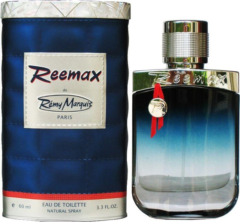Remi Marquis Туалетная вода для мужчин Reemax, 60 мл3700082500562Эмоциональный, современный парфюм напоминает об океанском бризе и прохладной морской воде. Невероятно яркий и стойкий цитрусовый аромат с нотами лимона и шалфея.