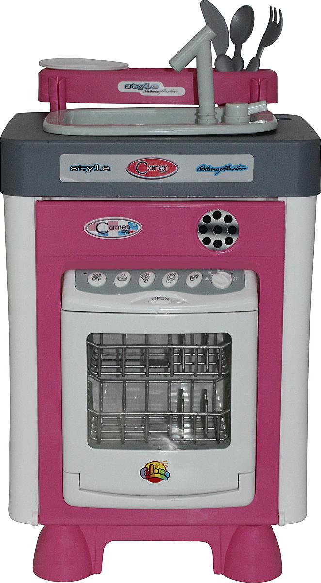 купить Полесье Игровой набор Carmen №3 с посудомоечной машиной и мойкой 47946 дешево