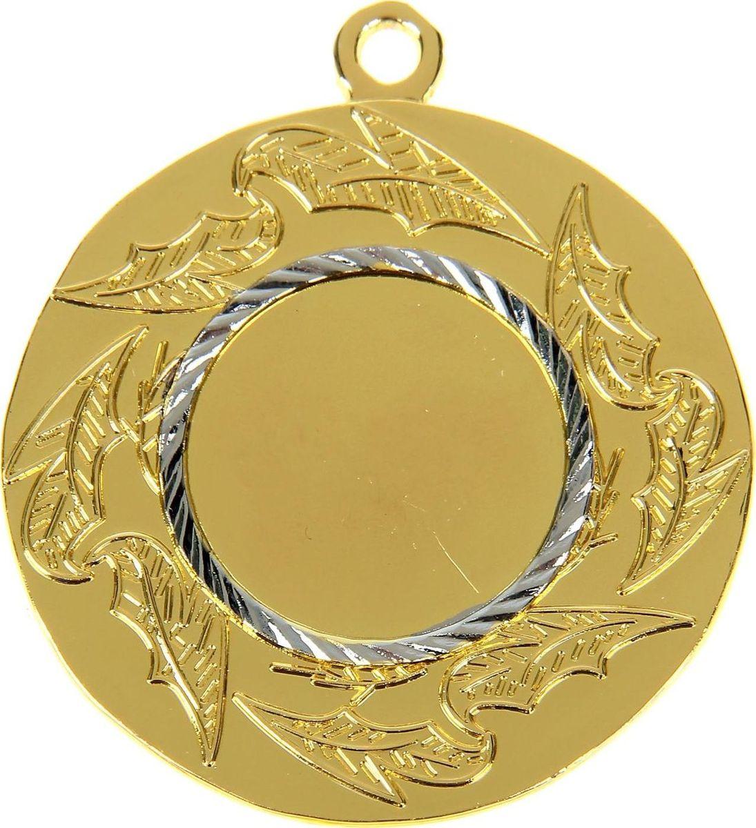 Медаль сувенирная с местом для гравировки, цвет: золотистый, серебристый, диаметр 5 см. 10282611028261Медаль — знак отличия, которым награждают самых достойных. Она вручается лишь тем, кто проявил настойчивость и волю к победе. Каждое достижение — это важное событие, которое должно остаться в памяти на долгие годы. Любое спортивное состязание, профессиональное или среди любителей, любое корпоративное мероприятие — отличный повод для того, чтобы отметить лучших из лучших. Характеристики:Диаметр медали: 5 см Диаметр вкладыша (лицо): 2,5 см Диаметр вкладыша (оборот): 4,5 см.