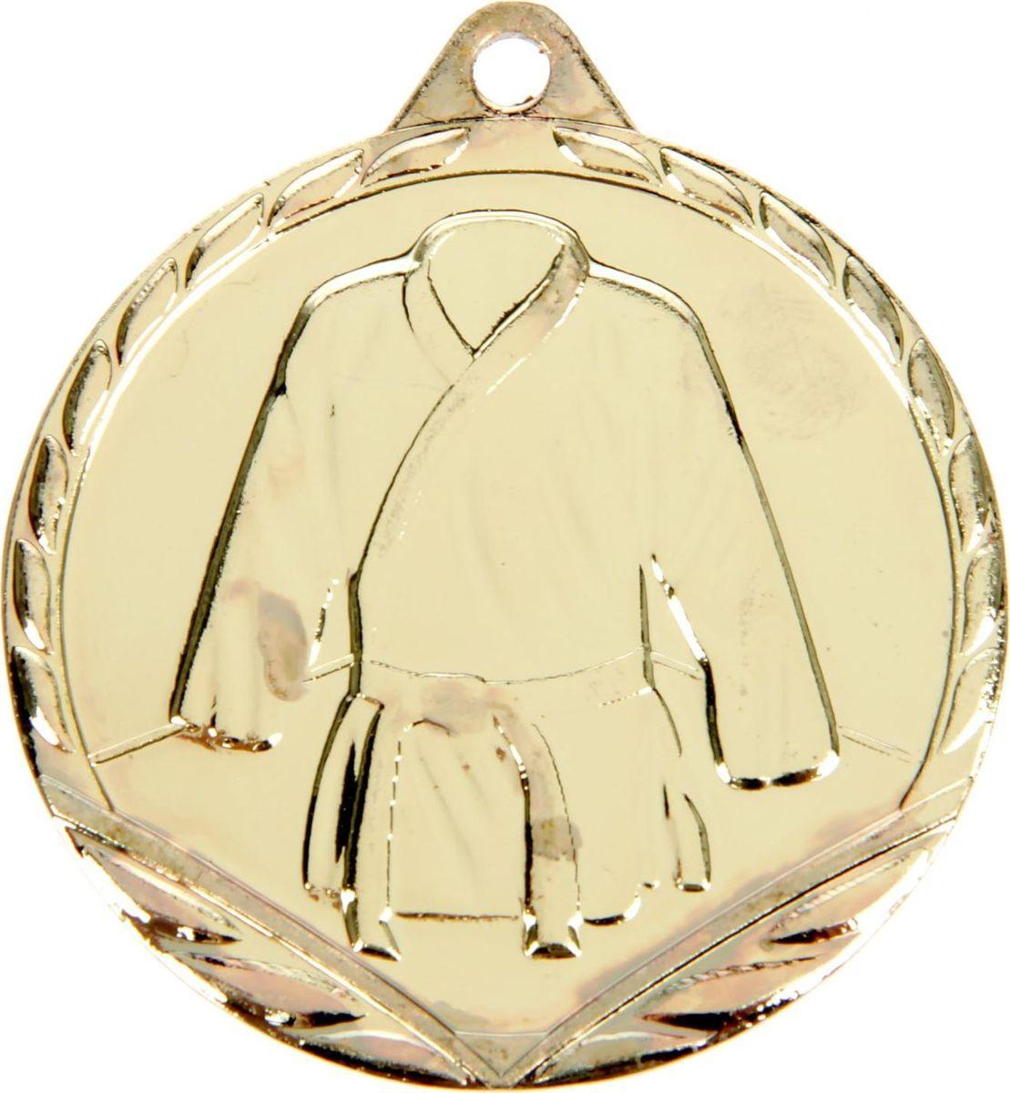 Медаль сувенирная Дзюдо, цвет: золотистый, диаметр 4,5 см. 0591387727Невозможно представить нашу жизнь без праздников! Мы всегда ждём их и предвкушаем, обдумываем, как проведём памятный день, тщательно выбираем подарки и аксессуары, ведь именно они создают и поддерживают торжественный настрой. Это отличный выбор, который привнесёт атмосферу праздника в ваш дом!